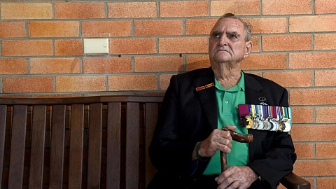 Australia's oldest living Victoria Cross recipient attends Adelaide dawn service | Sky News Australia
