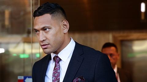 Folau, Rugby Australia fail to meet compensation mediation  | Sky News Australia