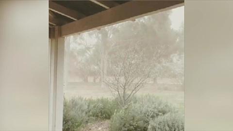 Dust storm hits western, central NSW   Sky News Australia