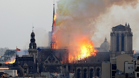 Pledge to rebuild Notre Dame in five years as €700m is donated