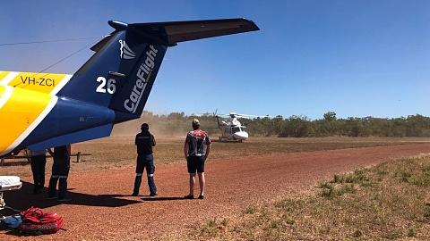 Three people injured in Kakadu helicopter crash | Sky News Australia