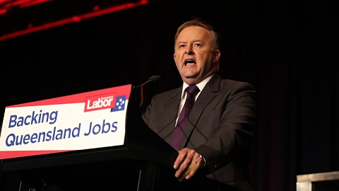 Albanese 'confident' of Labor gaining support in Qld | Sky News Australia