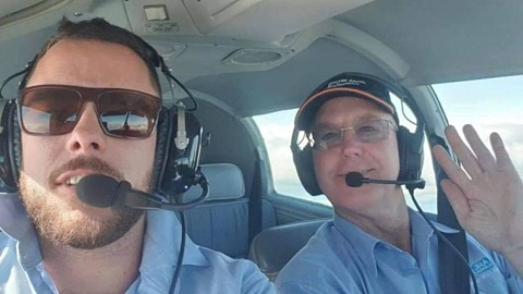 Father and son killed in plane crash identified | Sky News Australia