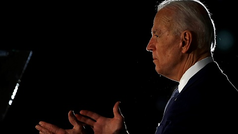 'There is no place for violence' Joe Biden addresses crowds after nationwide riots | Sky News Australia