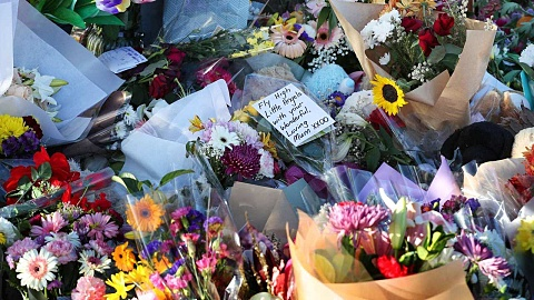 Mourners pay tribute to mother and three children murdered in Brisbane car fire | Sky News Australia