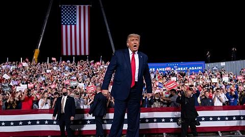 Trump: Thanks for electing an 'outsider as president' instead of 'depraved political establishment' | Sky News Australia