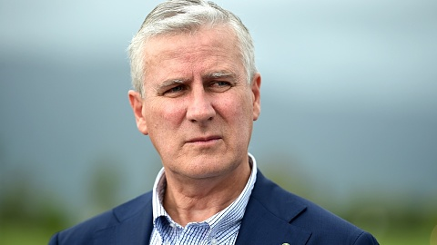 Michael McCormack admits 'dent' in Nationals' image