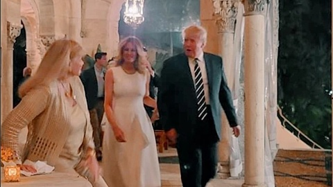 Melania Trump spotted in rare appearance wearing a $2,000 gown | Sky News Australia