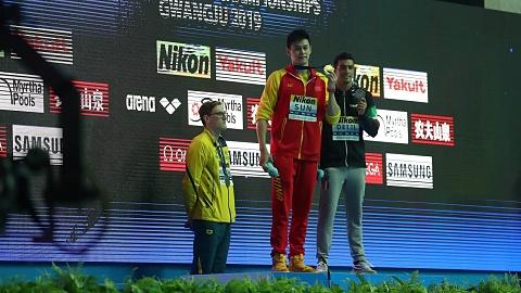 FINA issues warning to Australian swimming champion Mack Horton | Sky News Australia
