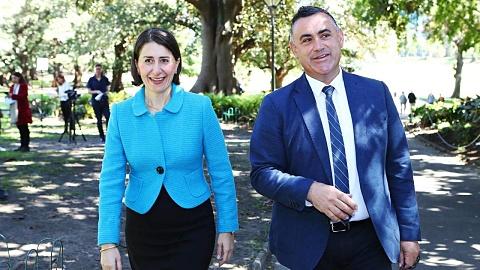 'I support her 100 per cent': Barilaro backs Berejiklian after ICAC reveal | Sky News Australia