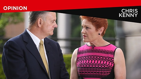 Labor 'trying to smear the Coalition with the sins of One Nation': Kenny