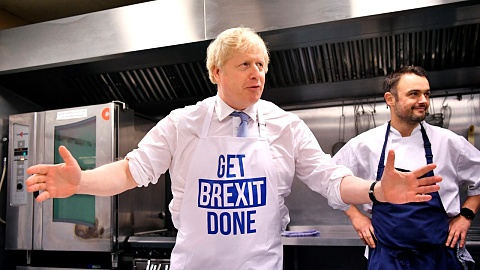 'First breakfast, then Brexit': Johnson revels in election victory | Sky News Australia