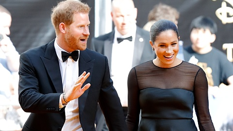 Royals and Hollywood royalty attend London's Lion King premiere | Sky News Australia