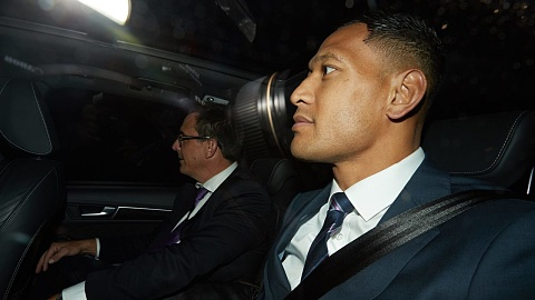 Israel Folau's hearing continues on Tuesday