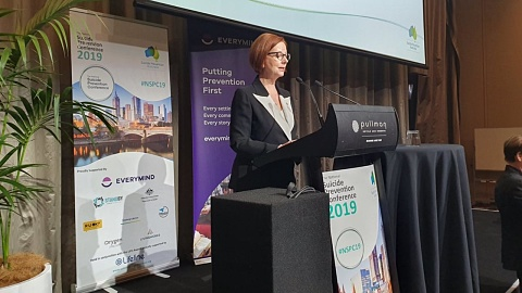 Aussies must keep 'dragging suicide out of the shadows': Gillard | Sky News Australia