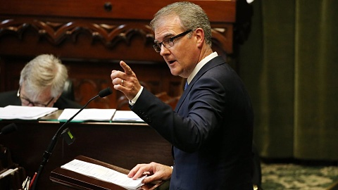 Michael Daley won't rule out ripping up Sydney's light rail