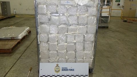 Border Force seizes 585kg of ice in Sydney's west