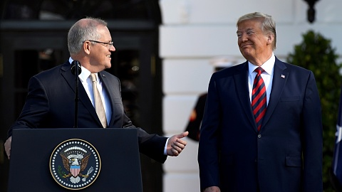 Trump 'liked Malcolm' but has 'special relationship' with Morrison   Sky News Australia