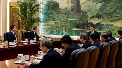 US and China hail 'progress' at trade war truce talks