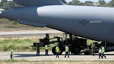 US stockpiling humanitarian aid at Venezuela-Colombia border
