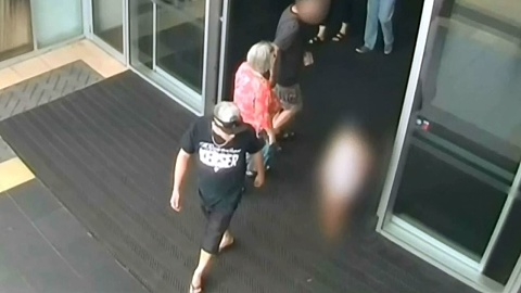 Footage of Qld shopping centre abduction released | Sky News Australia