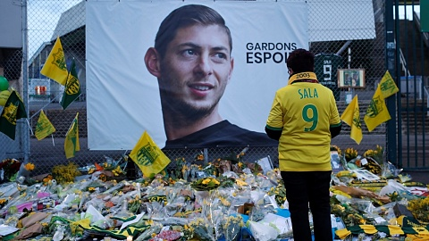 Body of Emiliano Sala flown back to Argentina for funeral