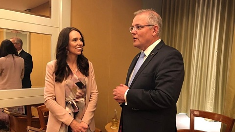 Refugee deal to be discussed in Morrison-Ardern meeting