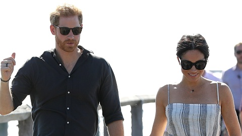 Duke and Duchess of Sussex visit Fraser Island off Qld