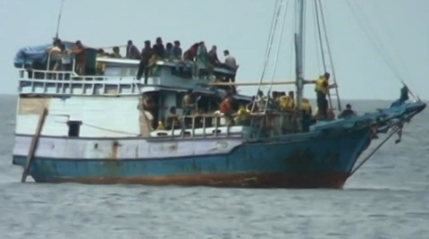 Third asylum seeker boat intercepted in Australia | Sky News Australia