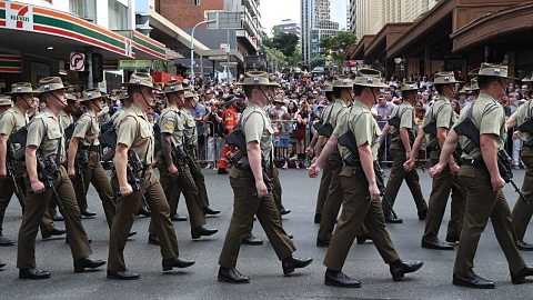Australians attend Anzac Day services in droves