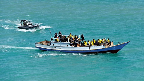 Six people smuggling boats reportedly intercepted en-route to Australia | Sky News Australia