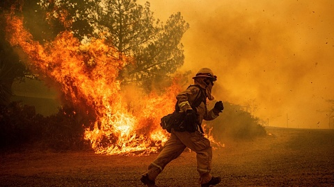 California wildfire preparation starts early as drought continues | Sky News Australia