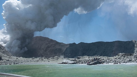 """NZ Police report """"no signs of life have been seen"""" following volcano eruption   Sky News Australia"""