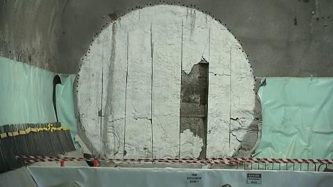 First mega tunnel borer arrives in Sydney CBD   Sky News Australia