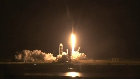 "SpaceX rocket ""amazing to see"" even as it exploded on impact 