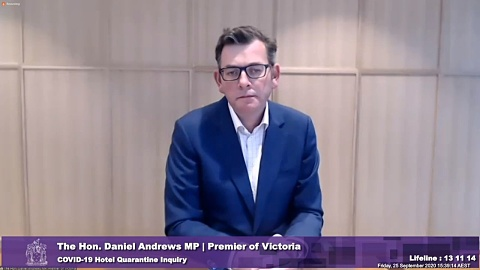Andrews concedes private security insufficient for hotel quarantine   Sky News Australia