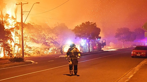 Teens charged over Qld blaze amid fire danger forecast | Sky News Australia