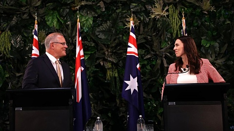 Ardern defends Morrison over climate denial accusations   Sky News Australia