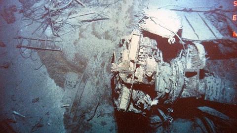 New vision reveals Titanic wreck decaying   Sky News Australia