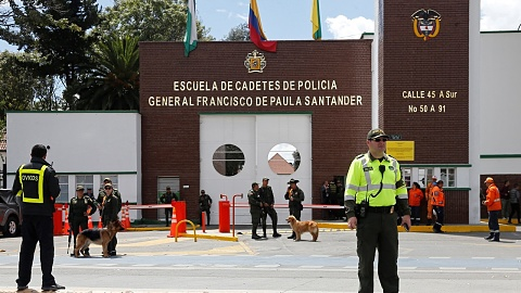 Car bombing leaves eight dead, 20 injured at police academy in Colombia