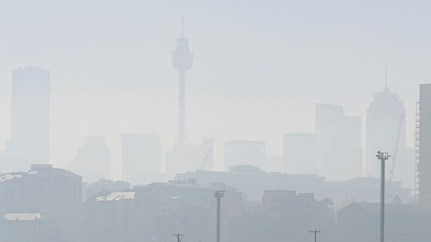 Hazardous air quality engulfs much of NSW | Sky News Australia