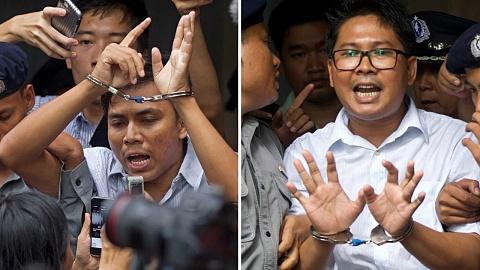 Jailed journalists' appeals dismissed in Myanmar   Sky News Australia