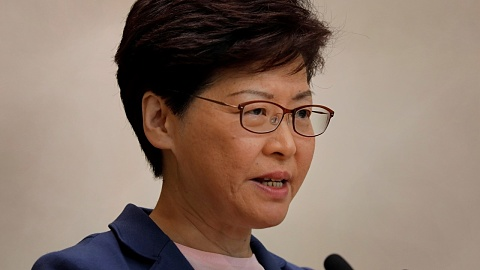 Hong Kong leader defends police actions during protests | Sky News Australia