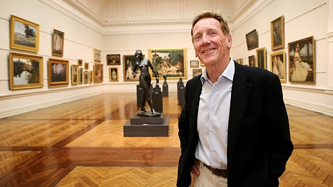 Former Art Gallery of NSW director Edmund Capon dies