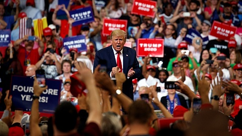 Trump launches re-election campaign   Sky News Australia