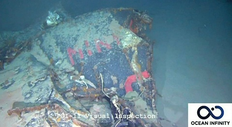 French Navy locates 1968 submarine wreckage | Sky News Australia