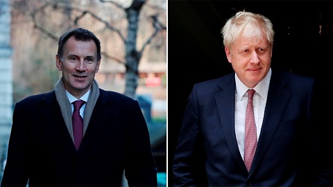 Johnson and Hunt battle to become next UK prime minister | Sky News Australia
