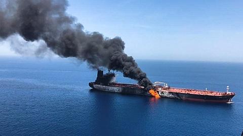 US claims video shows Iran's involvement in oil tanker attacks | Sky News Australia