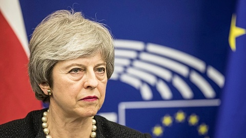 Theresa May holds emergency cabinet meeting in a fight to save Brexit