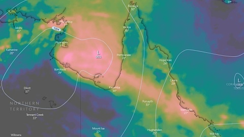 Ex-tropical cyclone Owen moves towards NT